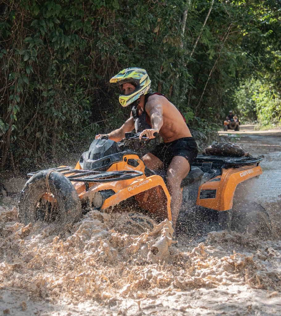 mud madness atv guy