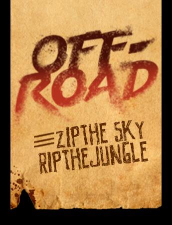 off road zip the sky