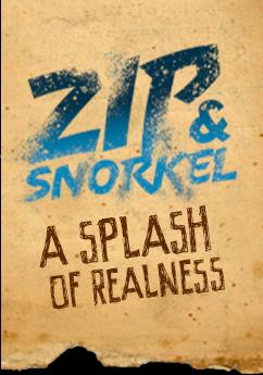 zip snornel a splash of realness