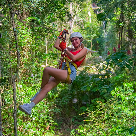 The best adventures at Selvatica Cancun