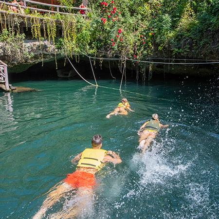 Cenote Privado en Selvatica